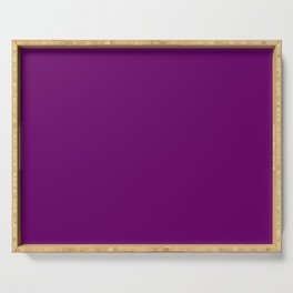 Mix-and-Match Violet Serving Tray