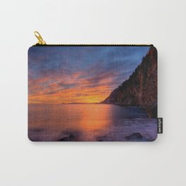 Mala Beach Sunset French Riviera Carry-All Pouch