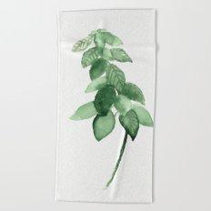 Plant 3 Beach Towel