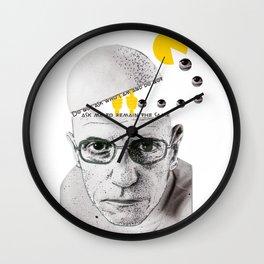 Foucault Wall Clock