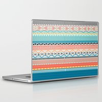 sweater Laptop & iPad Skins featuring Sweater Pattern by yesgmd