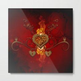 The wonderful hearts Metal Print
