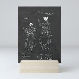 Vintage Fashion Negligee Patent Mini Art Print