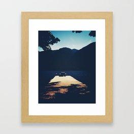 Private Picnic  Framed Art Print