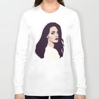 lana Long Sleeve T-shirts featuring Lana by Anna McKay