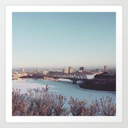 Ottawa Canada River Art Print