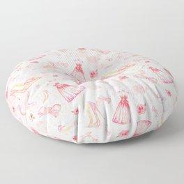 Pink dresses fashion #6 Floor Pillow