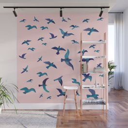 Birds II Wall Mural