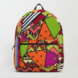 African Style No14, Tribal dance Backpack