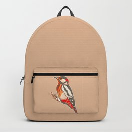 The Hard Working Woodpecker Backpack