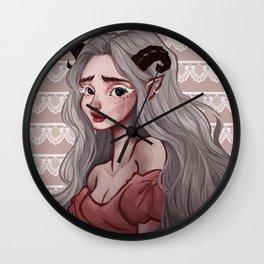 Devil Wall Clock