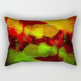 Abstract Terror Rectangular Pillow