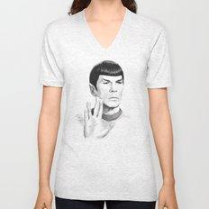 Spock Portrait Star Trek Unisex V-Neck
