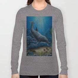 The World Of The Dolphin Long Sleeve T-shirt