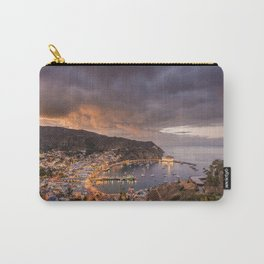 Harbor at Avalon on Catalina Island at Sunset Carry-All Pouch