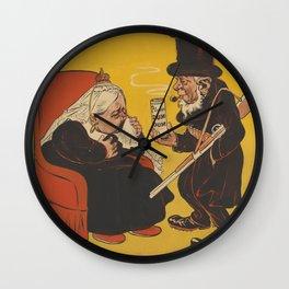 Paul Kruger offering Dum-dum pills to Queen Victoria Wall Clock