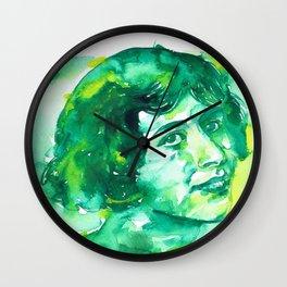 SIMONE WEIL - watercolor.2 Wall Clock