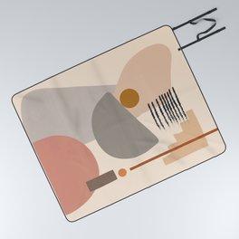 Modern Art Picnic Blanket