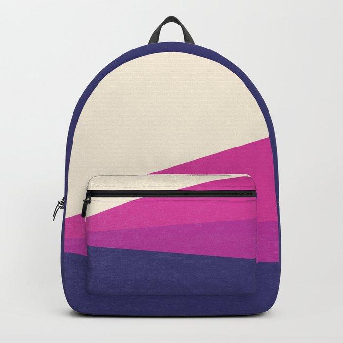 Stripe IV Violet Ray Backpack