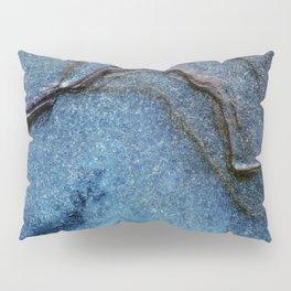 Blue Moonlight With Dark Ridges Pillow Sham
