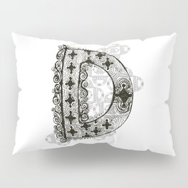 Color Me D Pillow Sham