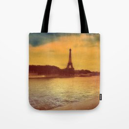 Paris from a Distance  Tote Bag