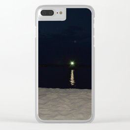 Green Gatsby Clear iPhone Case