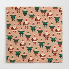 Toy Factory 02 (Patterns Please) Wood Wall Art