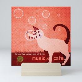 Soap bubbles 4 Mini Art Print