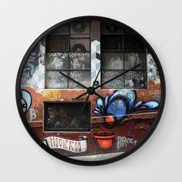Hosier Lane 2 Wall Clock