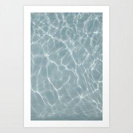 endless summer WATER Art Print