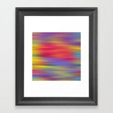 All The Colors  Framed Art Print