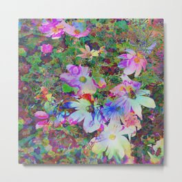 Colorful Flowertime Metal Print