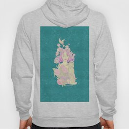 blue nature Hoody