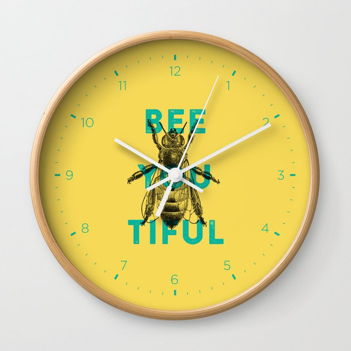 Bee-you-tiful Wall Clock