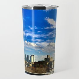 Panoramic Skyline Travel Mug