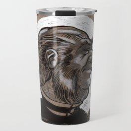 Victorian Profile_3 Travel Mug