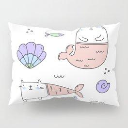 Merkats Coral Pillow Sham