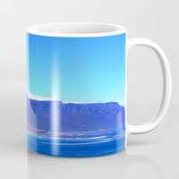 south africa Mugs featuring South Africa Impression 10 by Art-Motiva