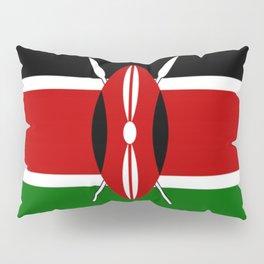 Kenyan Flag Pillow Sham