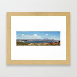 Lake Mead, Nevada Framed Art Print