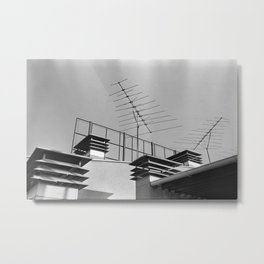 Antenas del piso 23 Metal Print