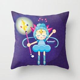 Crystal Bubbah Throw Pillow