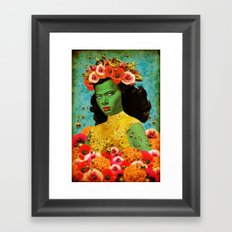 Bee Lady (Re-imagned Tretchikoff) Framed Art Print