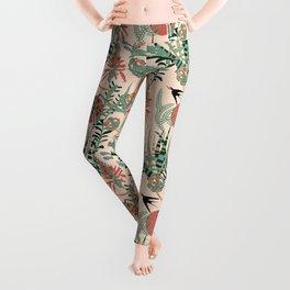 Succulents Jungle Leggings