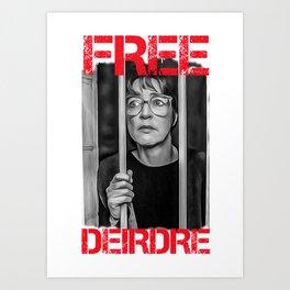free deirdre print Art Print