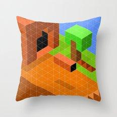 Mario World 2-1 Throw Pillow