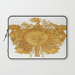 Golden Arms of the Chevalier d'Orléans Laptop Sleeve