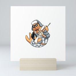Sniper Seals Mini Art Print