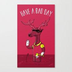 Bad Horacio Canvas Print